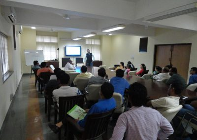 "Workshop on ""Cyber Security for Corporates"" at Bidas Farm, Kheda, Ahmedabad by Mr. Chintan Pathak."