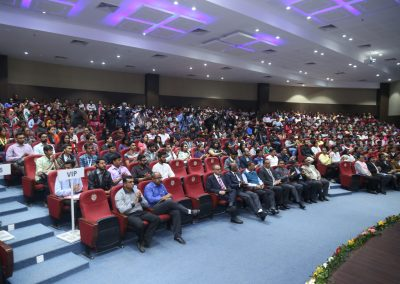 "Launching of ""Cyber Suraksha Kavach"" at Gujarat Forensic Science University (GFSU), Gandhinagar on 7th February 2017."