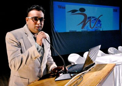 Sesssion by Mr.Chintan Pathak on Violence against Women: A social evil and try to combat it.